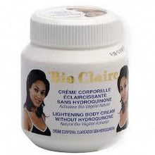 Load image into Gallery viewer, Bio Claire Lightening Body Cream Jar