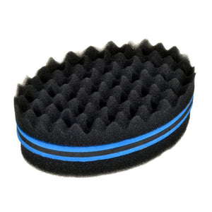 Hair Twist Sponge Large Double Side Holes