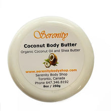 Load image into Gallery viewer, Serenity Coconut Body Butter 8 oz
