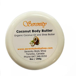 Serenity Coconut Body Butter 8 oz