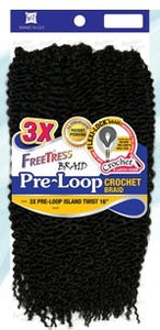 Freetress 3X Preloop Island Twist  16""
