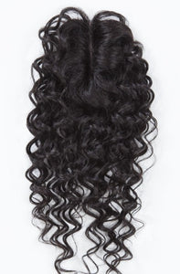 Natural Deep 16'' Hand Tied Lace Parting Closure