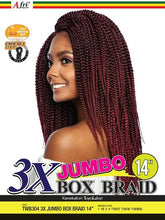 Load image into Gallery viewer, TWB 304- 3X Jumbo Box Braids