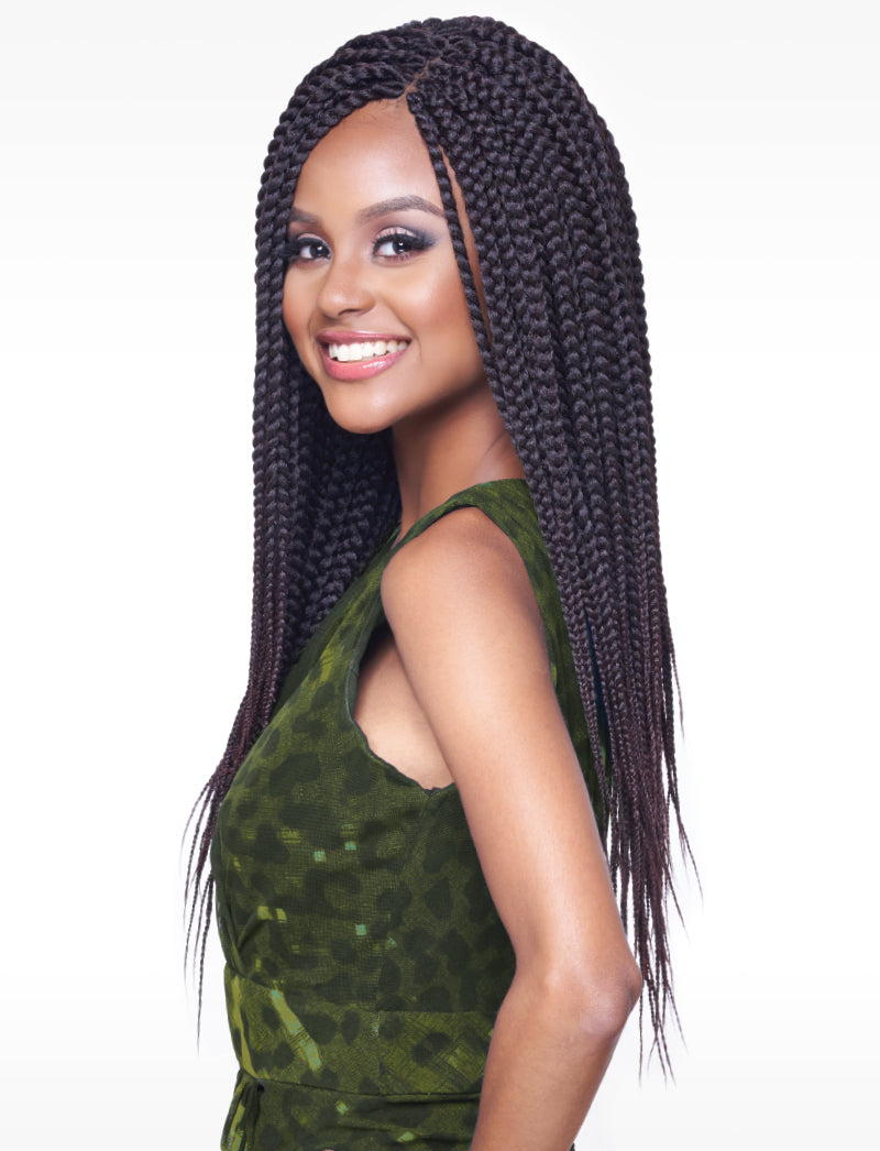 Kima EZ Twin Braiding Prestretched Hair 24