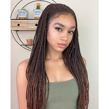 Load image into Gallery viewer, Half Cornrow, Half twist wig