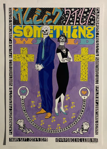 Poster for the Plazadrome screening of Something Wild (1986), dir. Jonathan Demme. Art by Erin Bassett (erinbassett.info)