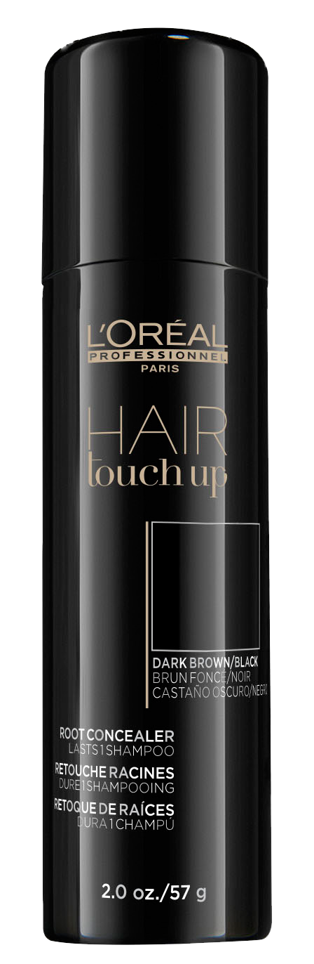 Hair Touch Up Spray Dark Brown/Black