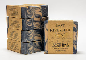 East Riverside Soap Co. - Charcoal Face Bar