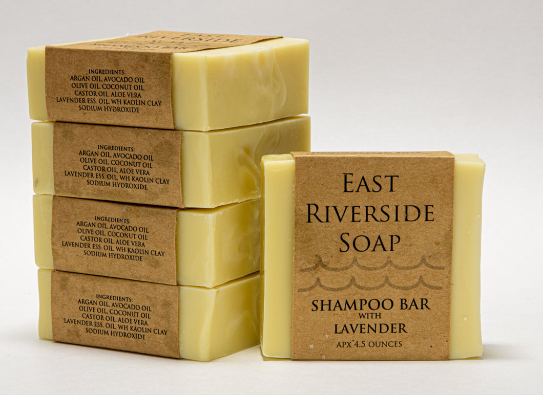 East Riverside Soap Co. - Shampoo Bar with Lavender