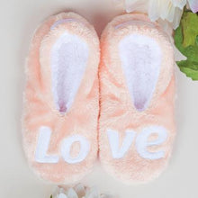 Load image into Gallery viewer, Pink LOVE Footsies