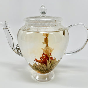 Glass Teapot Bella with Spoutspring Filter 600 ml