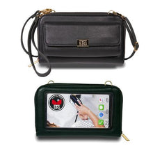 Load image into Gallery viewer, Sanibel Cell Phone Purse - Black
