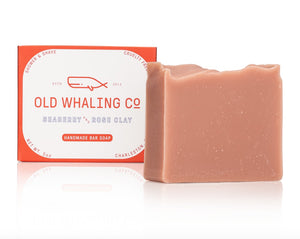 Old Whaling Co. Seaberry/Rose Clay Handmade Bar Soap