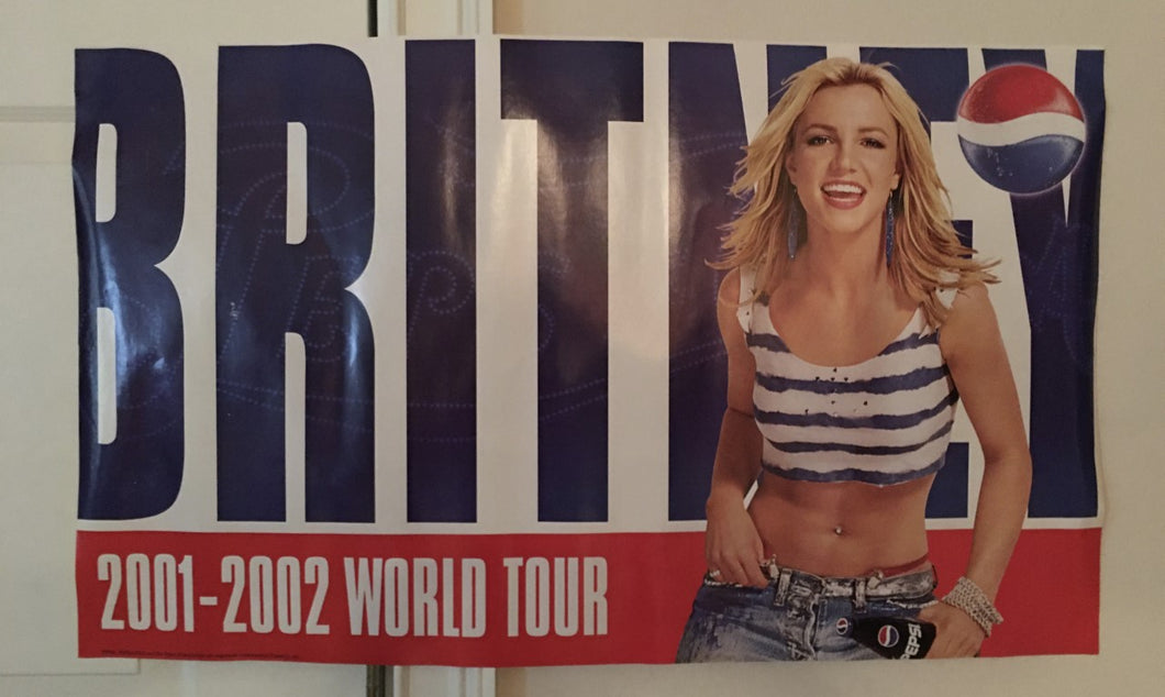 Britney Spears Pepsi World Tour Poster