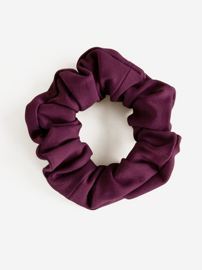 plum scrunchie #color_plum