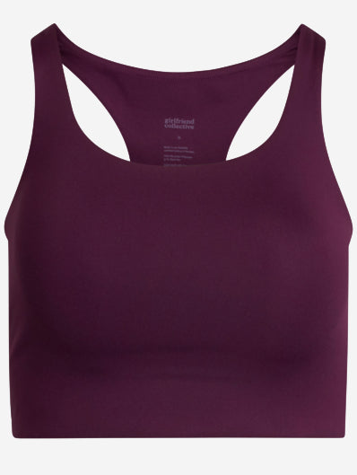 Plum Sports Bra #color_plum