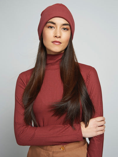 MIO Turtleneck framboise