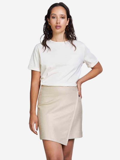 GUADALUPE Mini Skirt Golden Bizz
