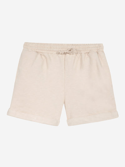 Beige Sweet Shorts with Emboideries #color_beige