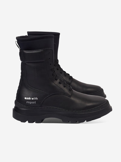 Vegan Black Boots #color_black