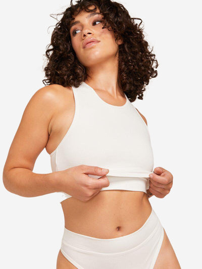 Luna Cropped Wireless Top