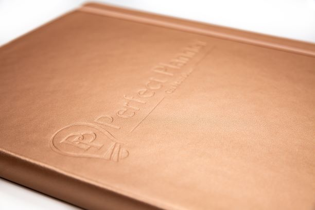 Perfect Planner UNDATED - Rose Gold