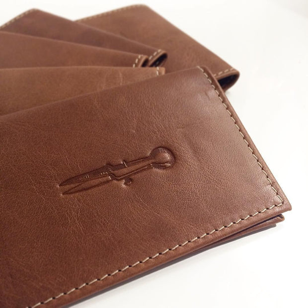 The Slim Jim Wallet - 100% Genuine NZ Leather, MADE IN NEW ZEALAND.