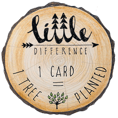 Little Difference 'I Got You A Tree' Gift Card