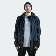 Gosling Coat - Black Merino