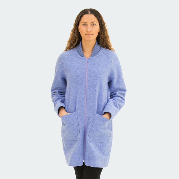 Bombshell Coat - Bluebell