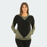 Sweetheart Sweater - Black Heart