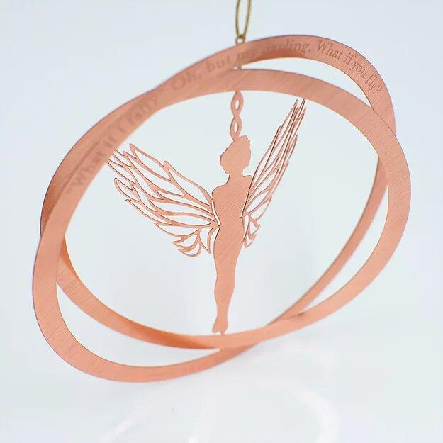 Angel Survivor Ornament