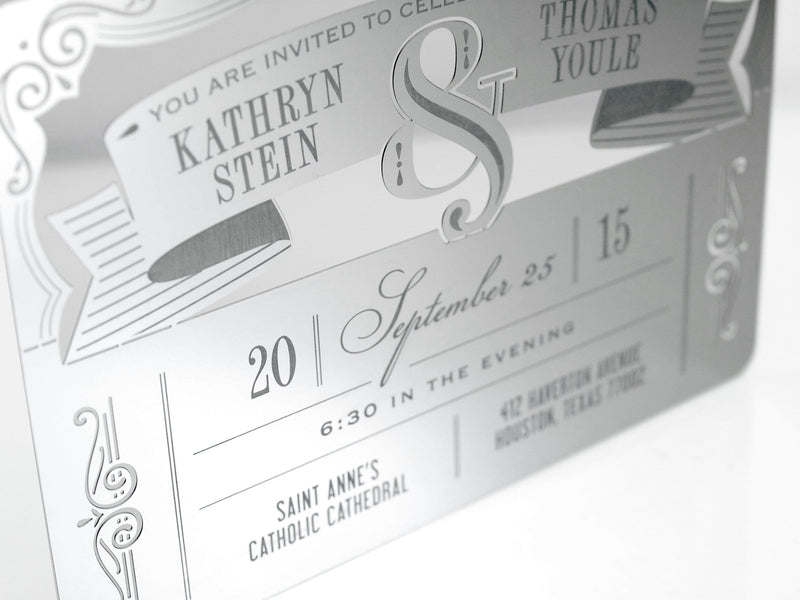 Ampersand Invitation