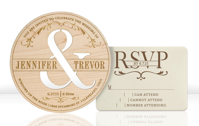 Typography Invitation