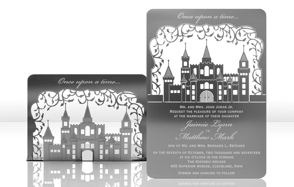 Castle Metal Invitation