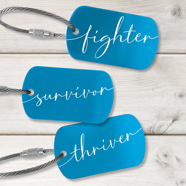 Survivor Tags - Fresh Design - Multiple Colors Available