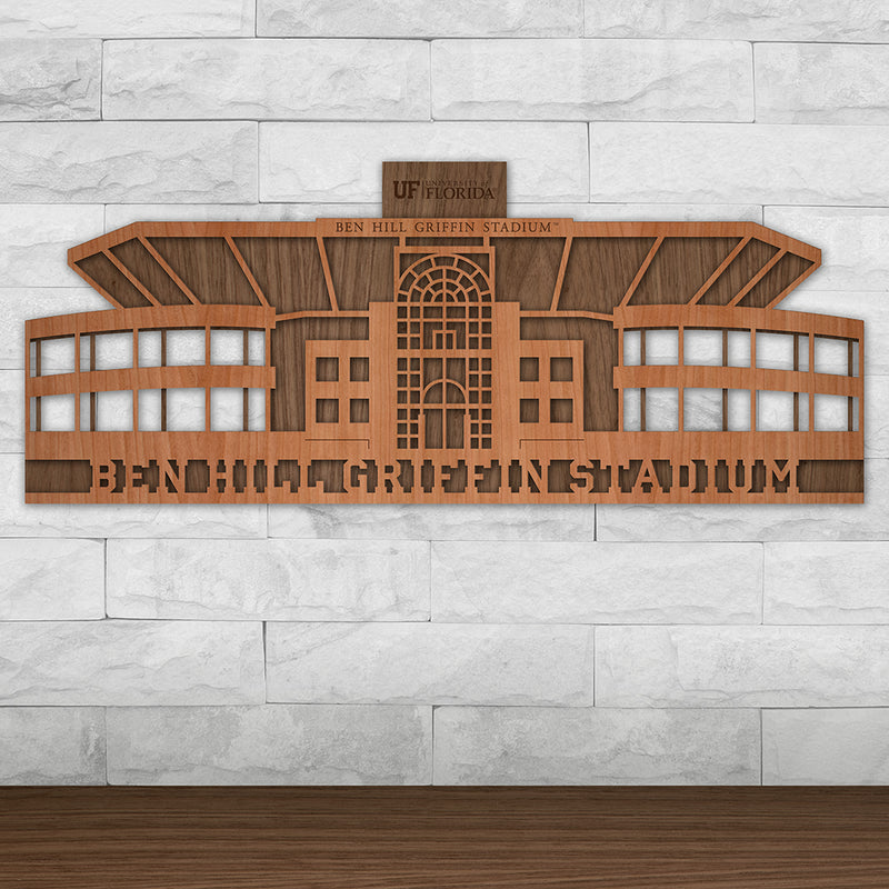 Ben Hill Griffin Stadium - University of Florida Gators Wall Art