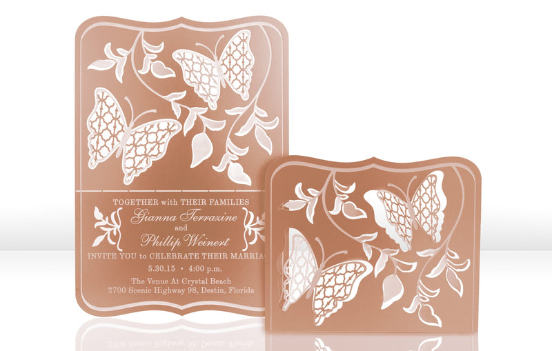 Flutter Metal Invitation