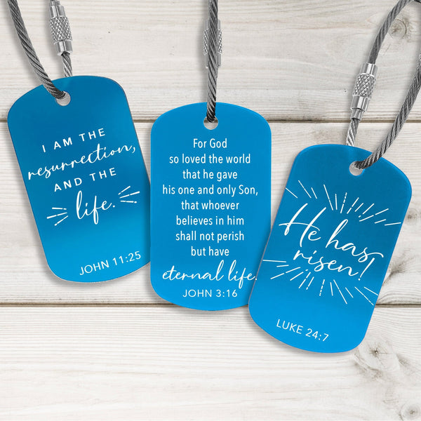 Faith Building Tags - Fresh Design - Multiple Colors Available
