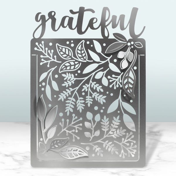 Grateful Folding Metal Card