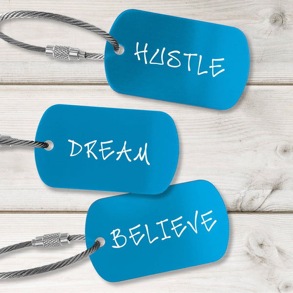 Confidence Building Tags - Modern Design - Multiple Colors Available
