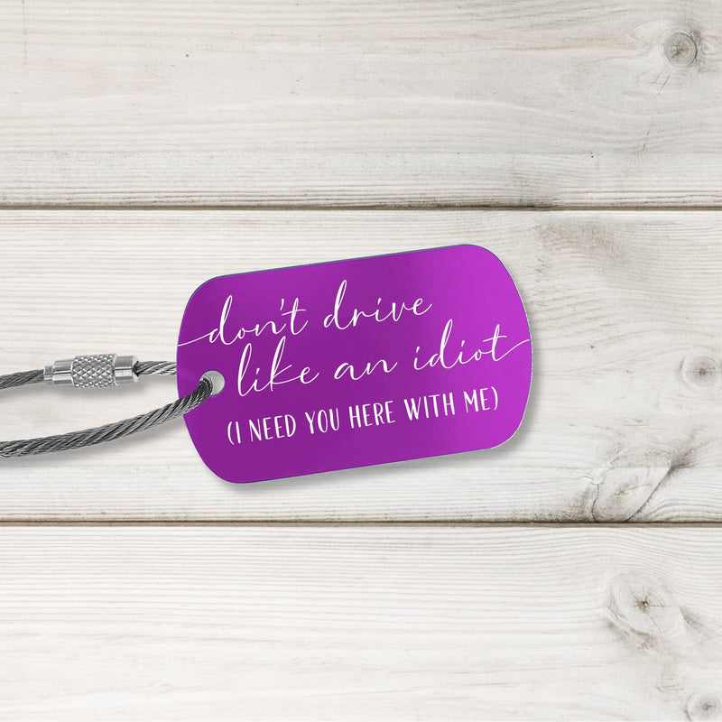 New Driver Tags - Fresh Design - Multiple Colors Available