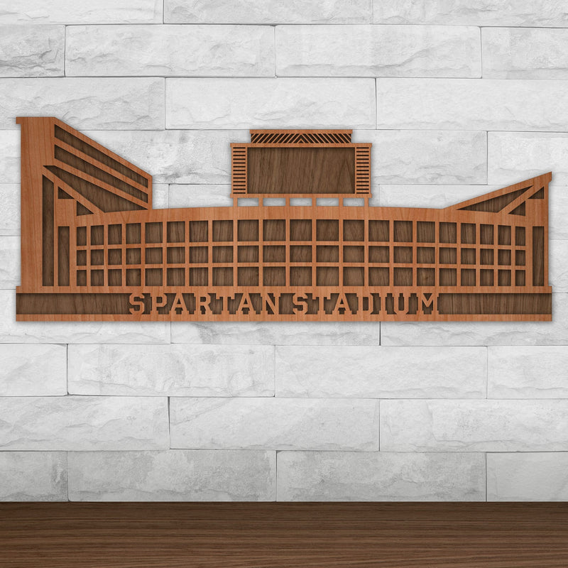 Spartan Stadium - Michigan State University Wall Art