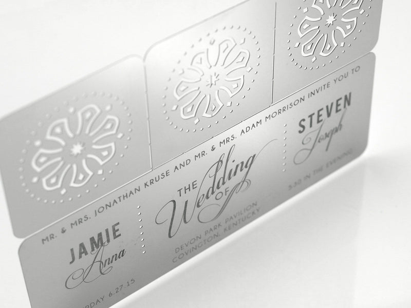 Mantra Metal Invitation