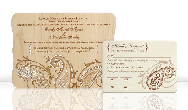 Paisley Invitation