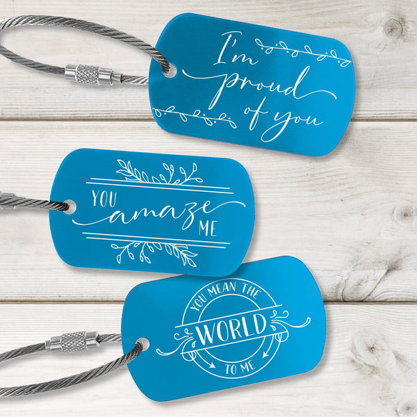 Loving You Tags - Fresh Design - Multiple Colors Available