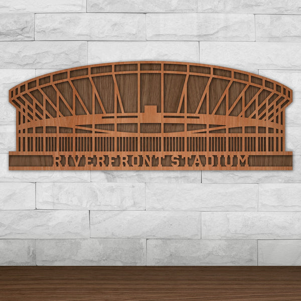 Riverfront Stadium - Vintage Cincinnati Reds and Cincinnati Bengals Wall Art
