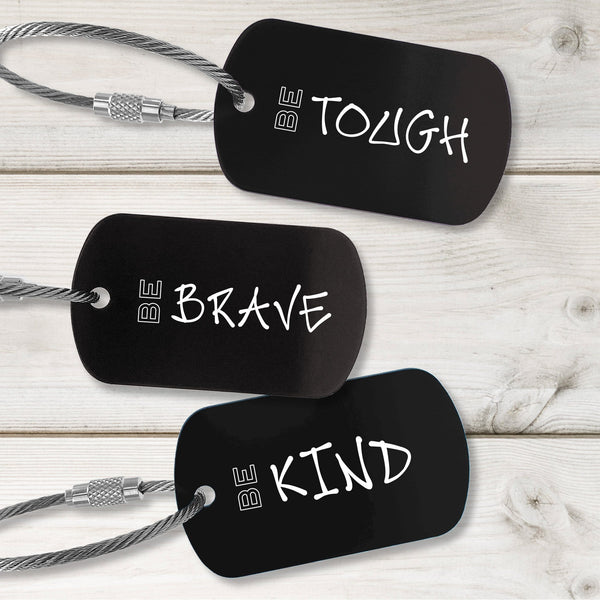 Integrity Building Tags - Modern Design - Multiple Colors Available