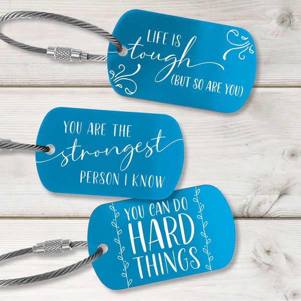 Encouragement Tags - Fresh Design - Multiple Colors Available