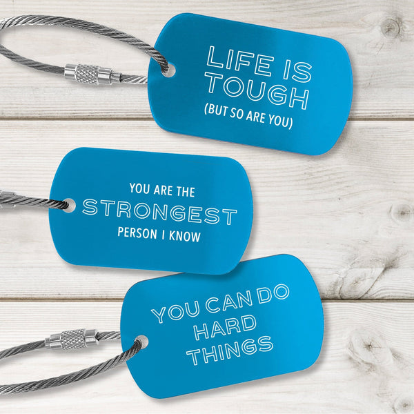 Encouragement Tags - Modern Design - Multiple Colors Available